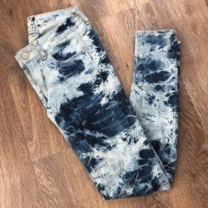 American Eagle Tie Dye Jeggings